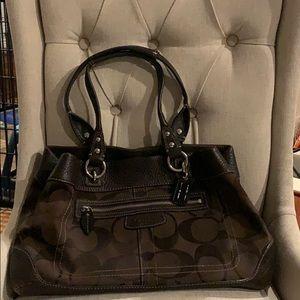 Coach brown purse!